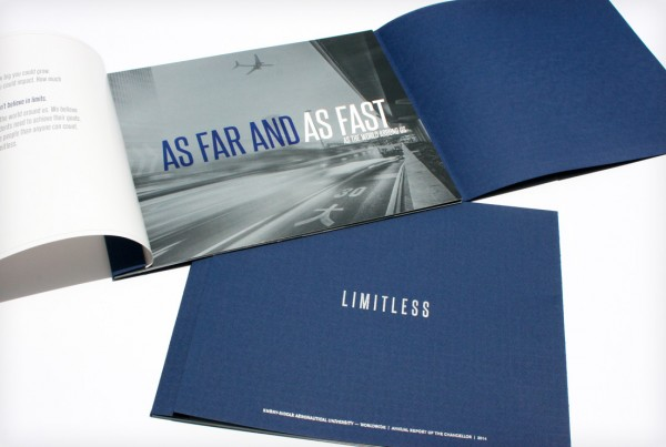 Embry Riddle Aeronautical University Limitless Brochure