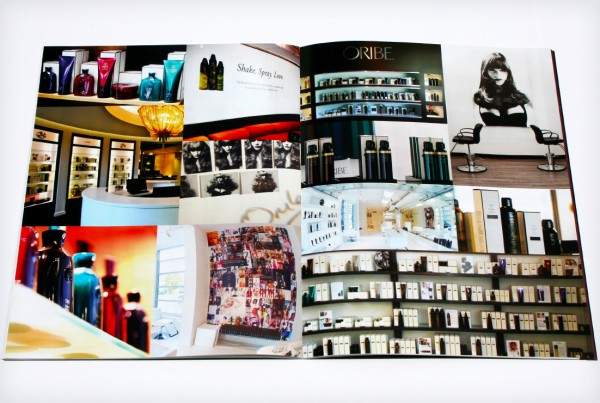 Oribe Hair Care Merchandising Book