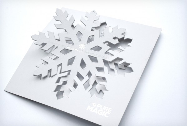 Orlando Magic Diecut Ornament Holiday Card