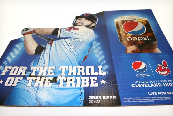 Pepsi Cleveland Indians Pop Display