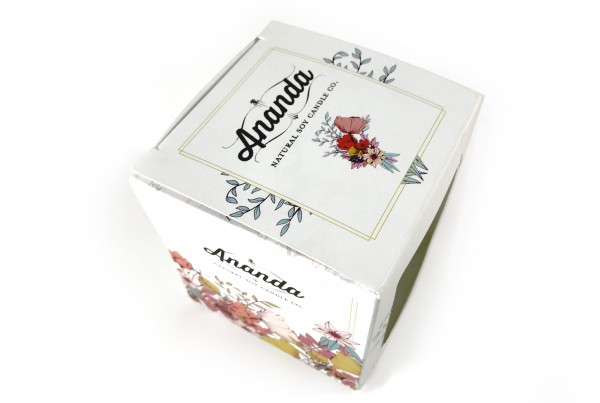 Ananda Natural Soy Candle Box
